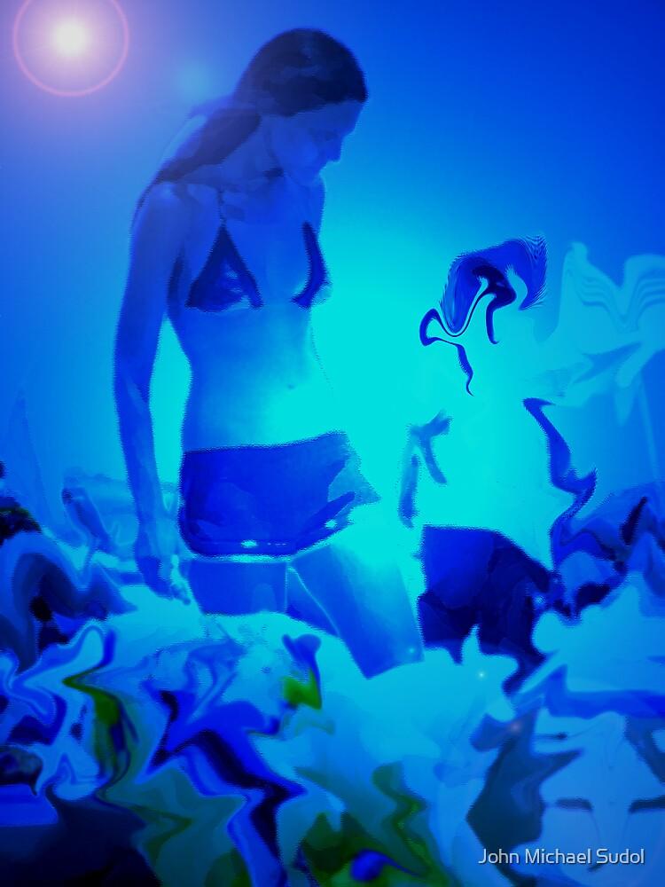 Blue Summer 1 by John Michael Sudol
