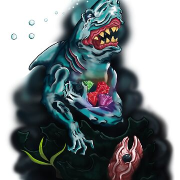 Deep Sea Shark Gem by tshirt2yourdoor