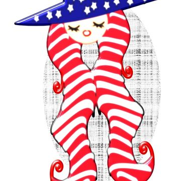 Doll from America (2960 Views) by aldona