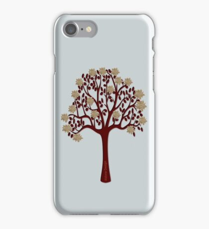 A tree with flowers [1376 Views] iPhone Case/Skin