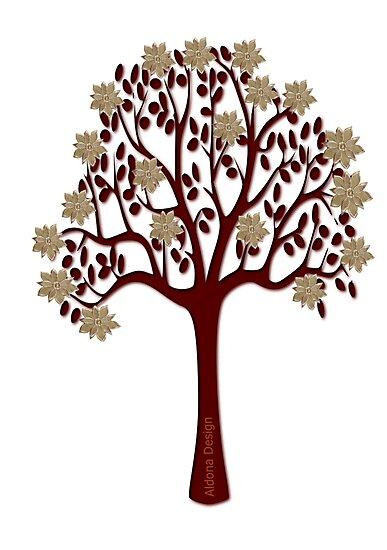 A tree with flowers [1376 Views] by aldona