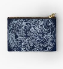 Vintage Constellations & Astrological Signs | White Studio Pouch