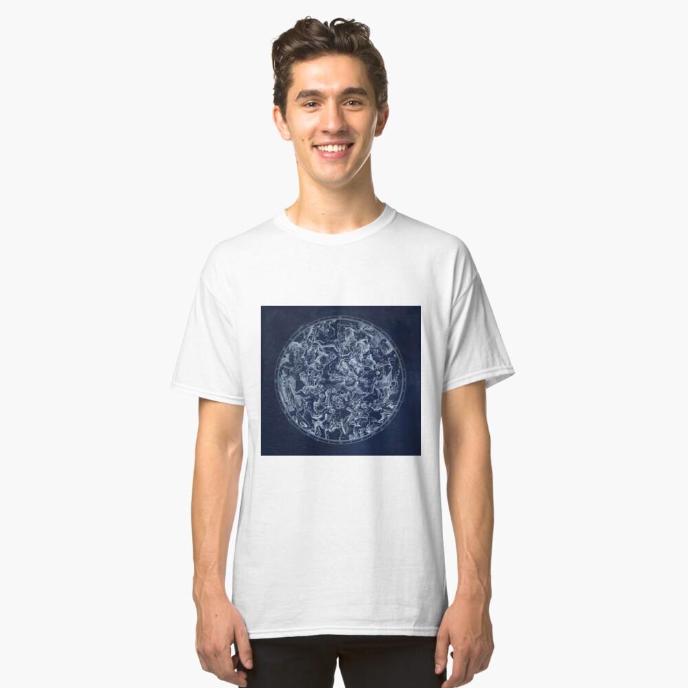 Vintage Sternbilder & Sternzeichen | Weiß Classic T-Shirt