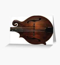 Mandolin Vibes Greeting Card