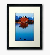 Deep Blue See Framed Print