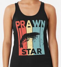Prawn Star Vintage Retro Women's Tank Top