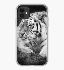 Tiger sticking its tongue out  iPhone Case