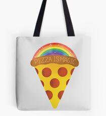 pizza is magic Tote Bag