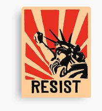 RESIST Canvas Print