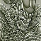 Alien Xenomorph by Wm. Randal Painter