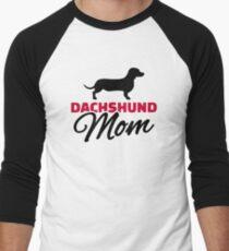 Dachshund Mom Men's Baseball ¾ T-Shirt