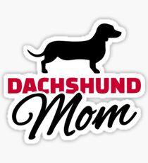 Dachshund Mom Sticker