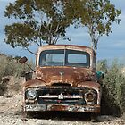 Old International pick-up truck (Lunatic Hill) by DashTravels