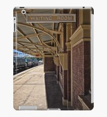 Train Station in Goulburn/NSW/Australia (8) iPad Case/Skin