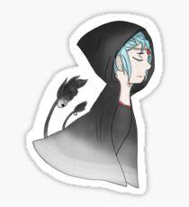 Anime Girl Sticker