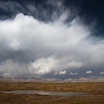 Kyrgyzstan Landscape by Scully