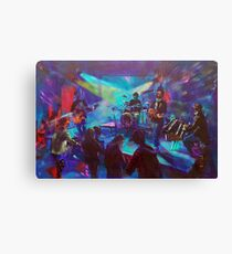 Blues Exile Live at the Hawkesbury Hotel Canvas Print