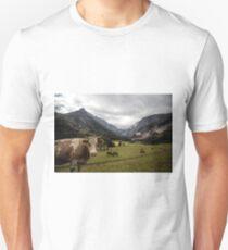 Austrian valley - plus cow Unisex T-Shirt