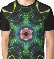 Psychedelic Bungee Jump Graphic T-Shirt