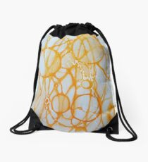 Happy Energatic Neurographic circles   Drawstring Bag
