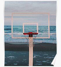 Summer hoop vibe Poster