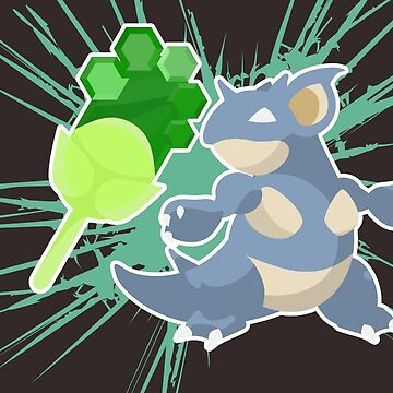 Earth Badge Nidoqueen by lomm