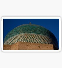 Green dome detail Sticker