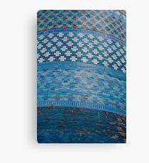 Tiles of the Khiva Unfinished Minaret Canvas Print