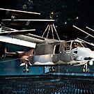 Ein CV-22 Osprey hängt in einer schalltoten Kammer. von StocktrekImages