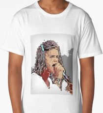 Blind Melon Shannon Hoon Woodstock 94' Long T-Shirt