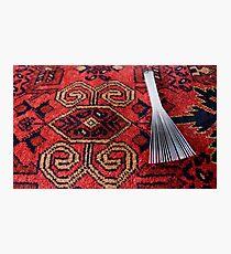 Carpet making tool Photographic Print