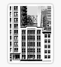 Building Facade  Sticker