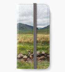 Glencoe Highlands  iPhone Wallet