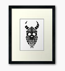 Old Bones- Draugr Framed Print