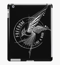 FREEDOM LIKE A BIRD iPad Case/Skin