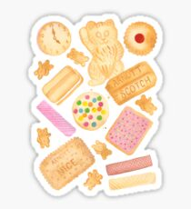 Biscuits In Bed Sticker