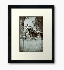 Rural Reminiscence Framed Print