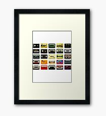 #Music Framed Print