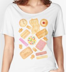 Biscuits In Bed - By Merrin Dorothy Women's Relaxed Fit T-Shirt