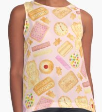 Biscuits In Bed - By Merrin Dorothy Contrast Tank