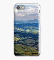 high mountain panorama view iPhone Case/Skin