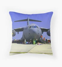 US Air Force C17  Throw Pillow