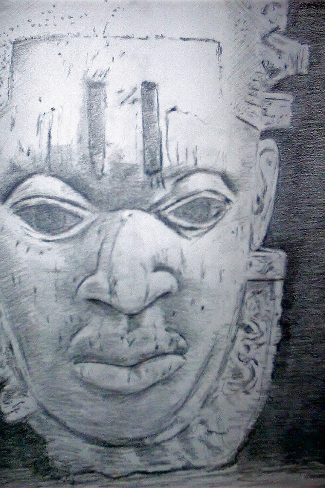 Oba Mask - Queen Mother Idia - Scarab Club by Charles Ezra Ferrell