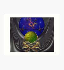 Global Orb Depository Launch Art Print