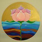 mandala-lotus by heidi hinda chadwick