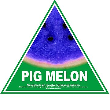 Greens tree tories PIG MELON by mcdf