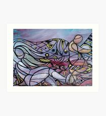 Stealing The Moon by Donna Williams Art Print