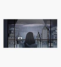 Pixel Noir Photographic Print