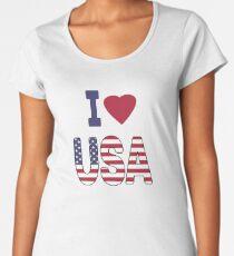 United States of America, national flag Women's Premium T-Shirt