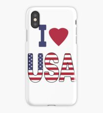 United States of America, national flag iPhone Case